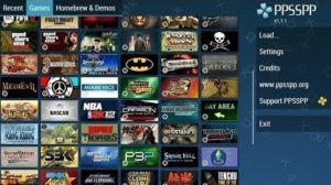 play psp games on android
