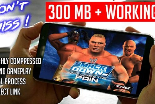 Download WWE Smackdown here comes Pain for android