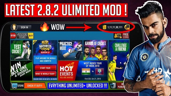 Download WCC2 Latest Version Mod Everything Unlimited