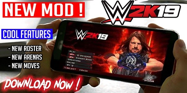 Download WWE 2K19 MOD