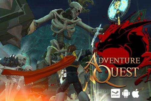 Download AdventureQuest 3D MMO RPG By Gaming Guruji Blog