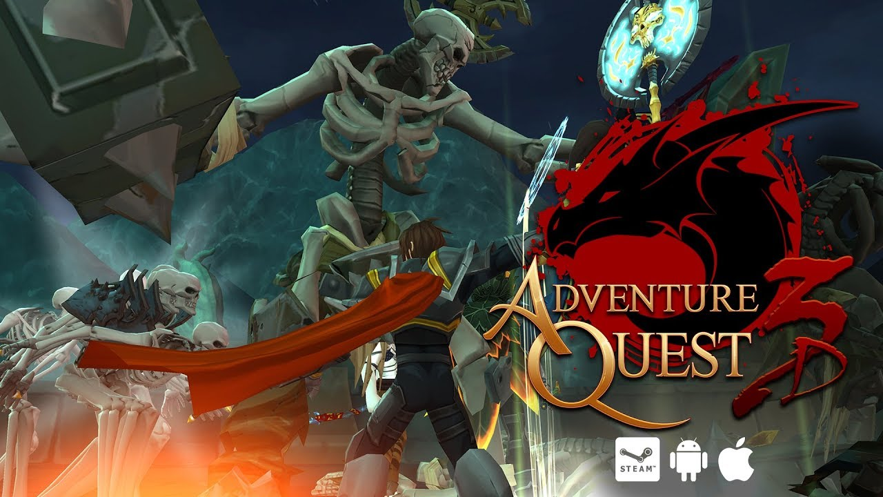 Download AdventureQuest 3D MMO RPG By Gaming Guruji Blog