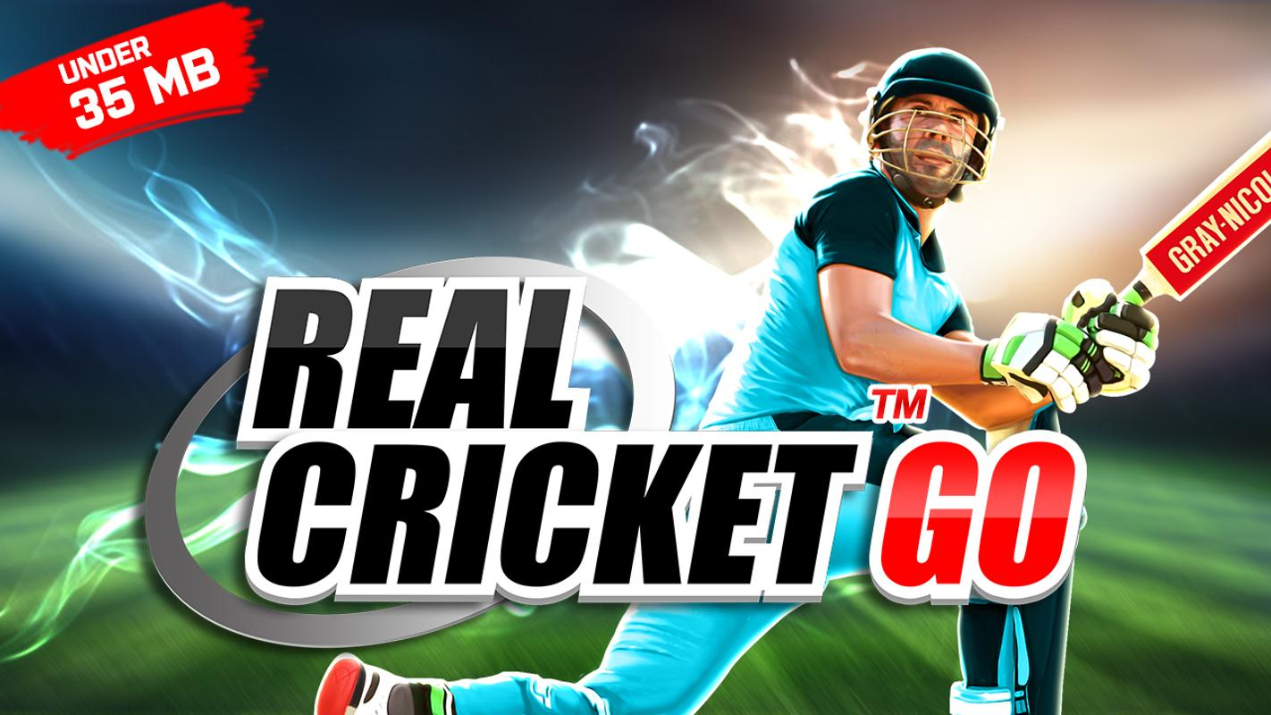 Download Real Cricket™ GO for Android By Gaming Guruji Blog